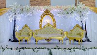 Wedding throne and chairs