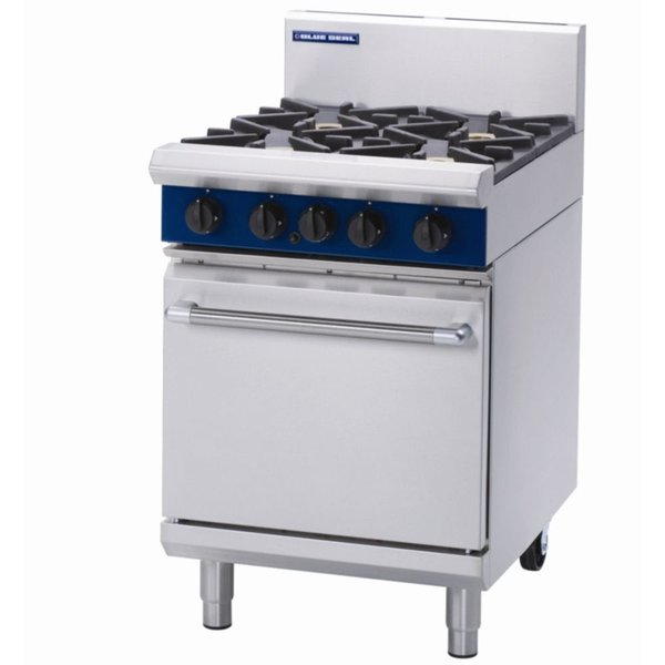 Blue seal 4 burner range cooker