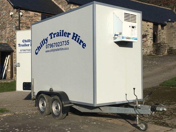 Fridge freezer trailer for sale