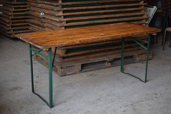 Vintage folding tables