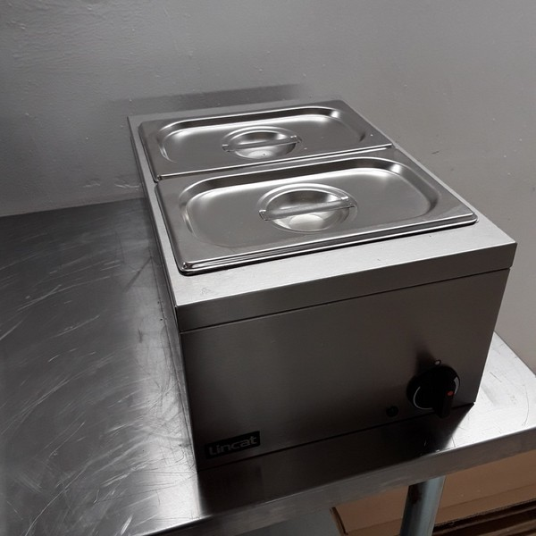 Ex Demo Lincat LBMW J545 2 Pot Wet or Dry Bain Marie (8237)