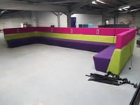 Ex University Sectional Library Banquette Seating