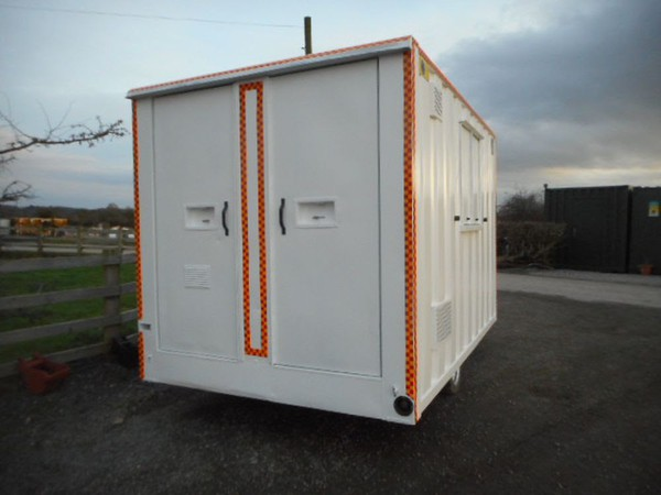 Site welfare trailer