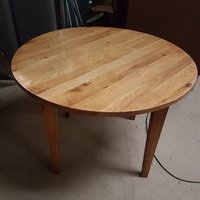Round dining tables