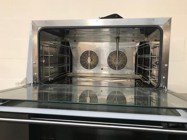 Counter top electric oven