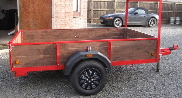 Heavy Duty Braked Trailer