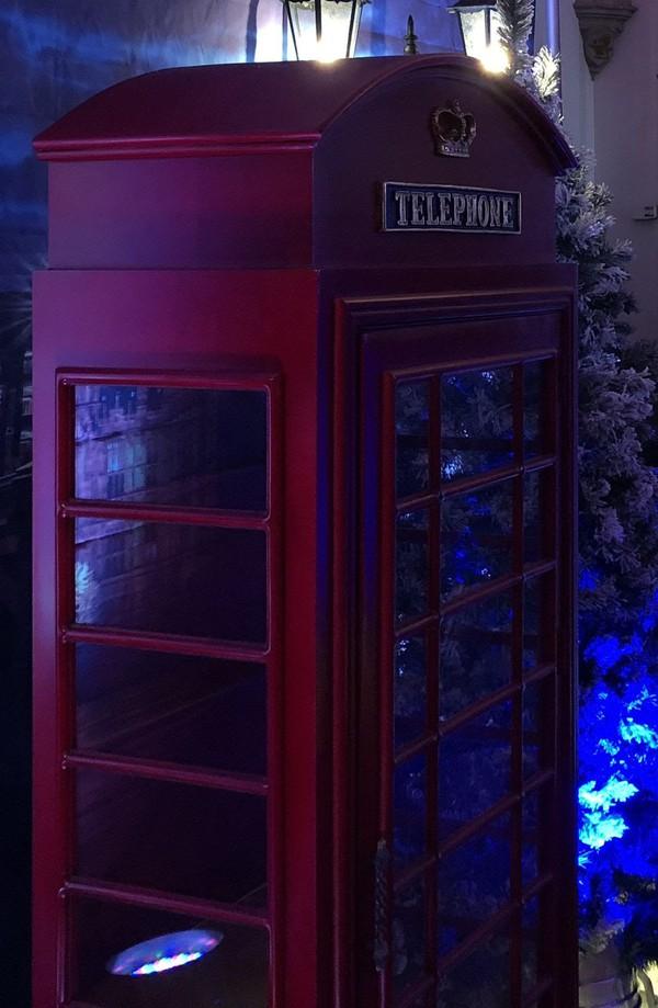 Secondhand telephone box