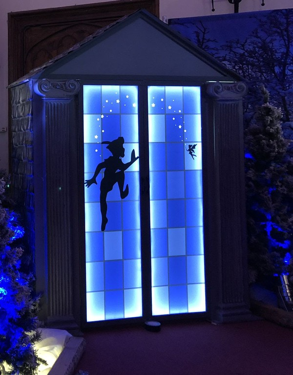 Used peter pan entrance