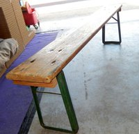 Wooden folding benches for sale