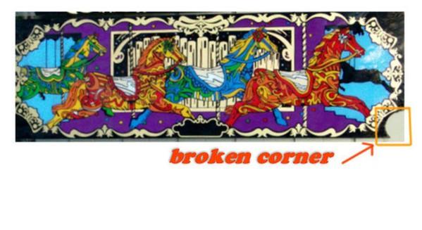Broken corner
