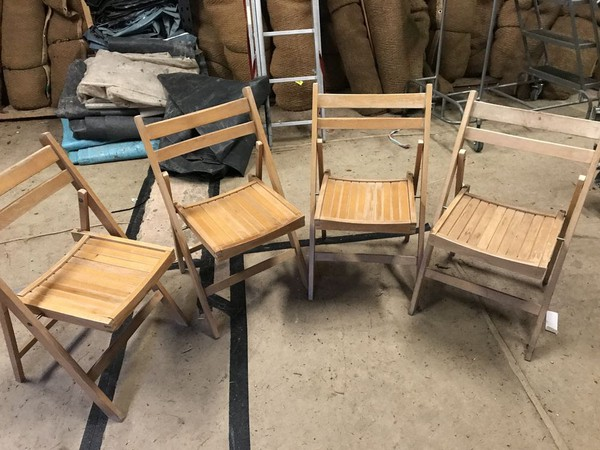 171 Beechwood Folding Chairs