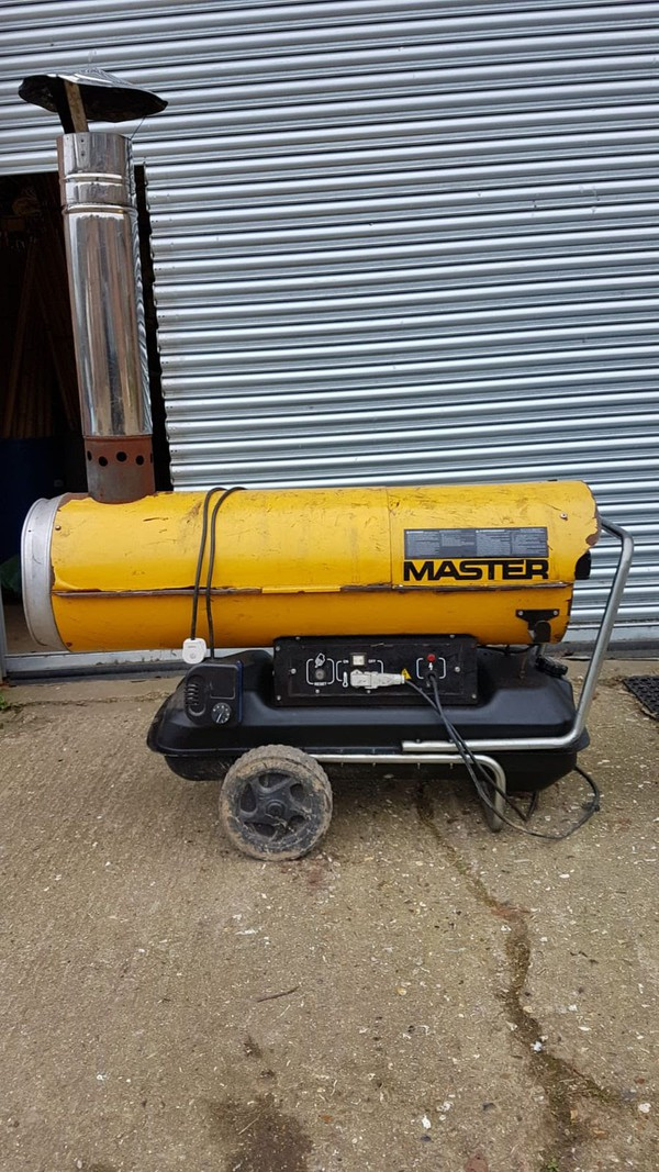 Master BV170E Indirect Marquee Heater