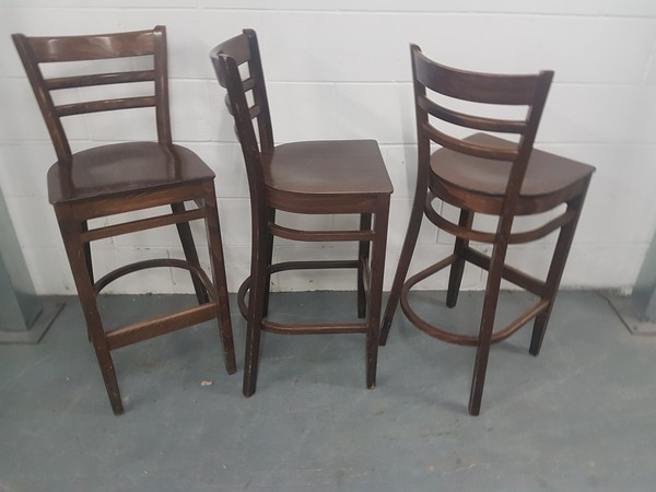 12x Dallas High Bar Chairs