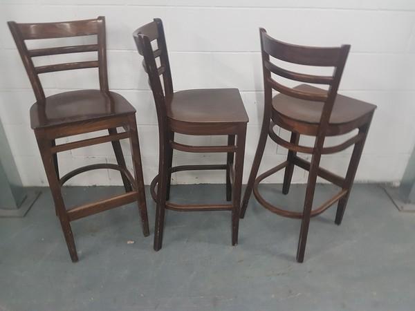 12x Dallas High Bar Chairs