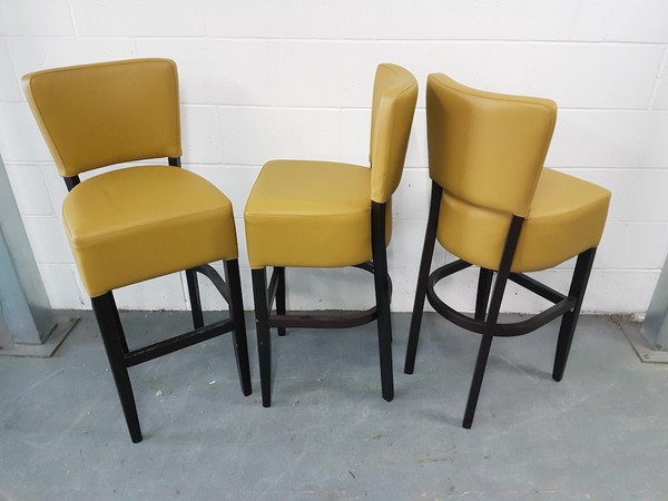 8 No. New Oregon high bar chairs