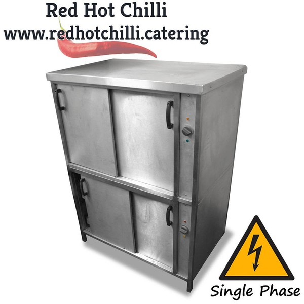 Two Tier Hot Cupboard