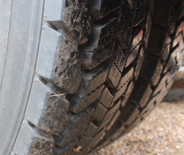 Nearly new tyres