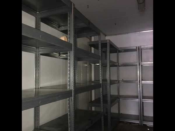 Racking in store room