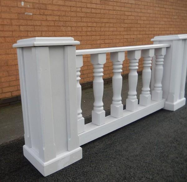 White Wooden Balustrades