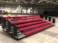 Complete Theatre Bleacher Seating System