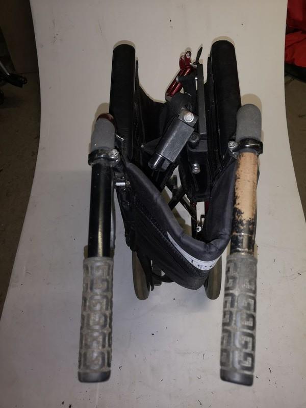 z-Tech folding wheel chairs