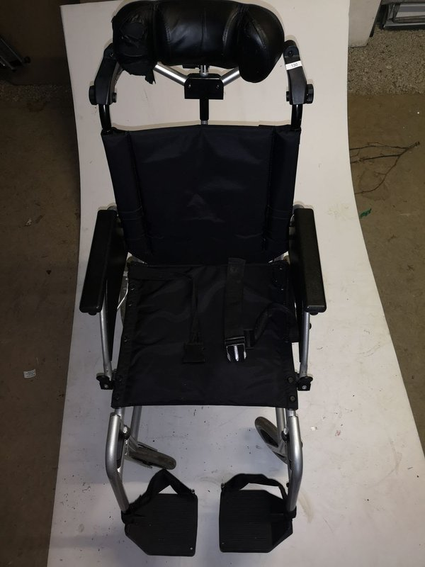 Folding aluminium wheel chair