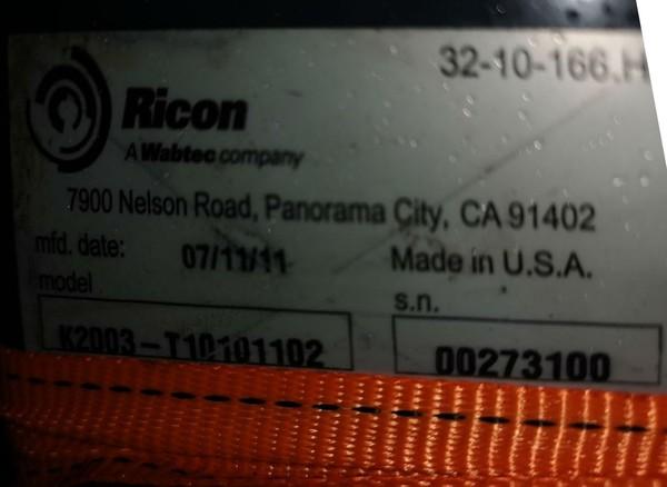 Ricon K2003 T10101102