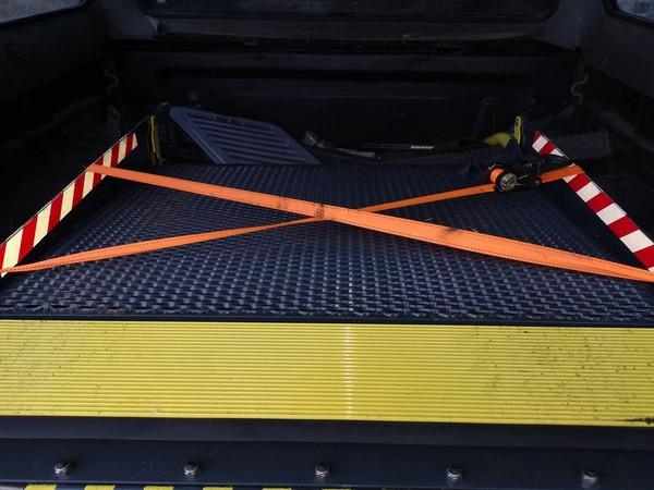VW Transporter wheelchair tail lift