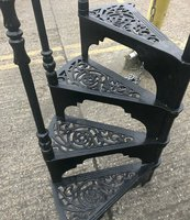 Vintage spiral staircase London