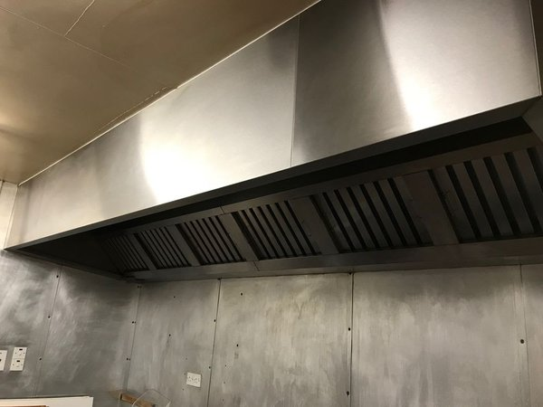 Stainless steel Extractor system
