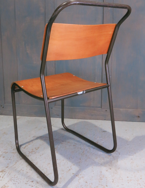 Steel and ply chairs
