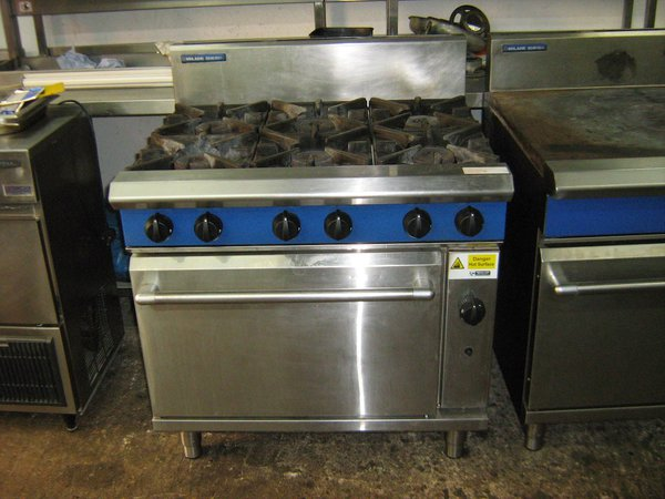 Blue Seal 6 G506D Burner Oven
