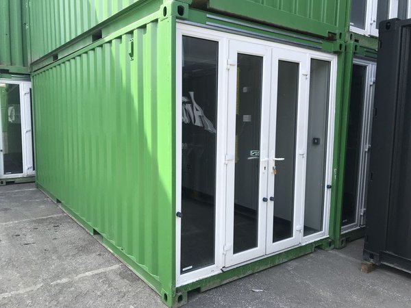 Container cafe unit