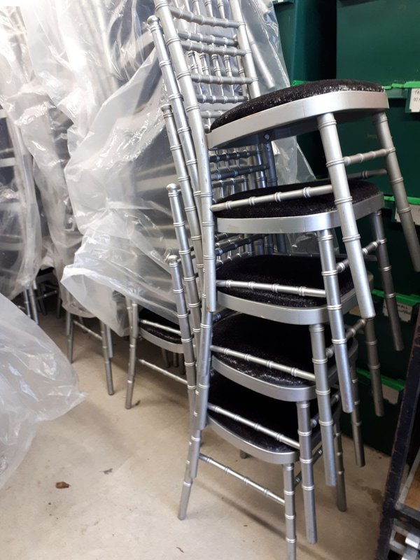 Silver Chivari chairs for sale