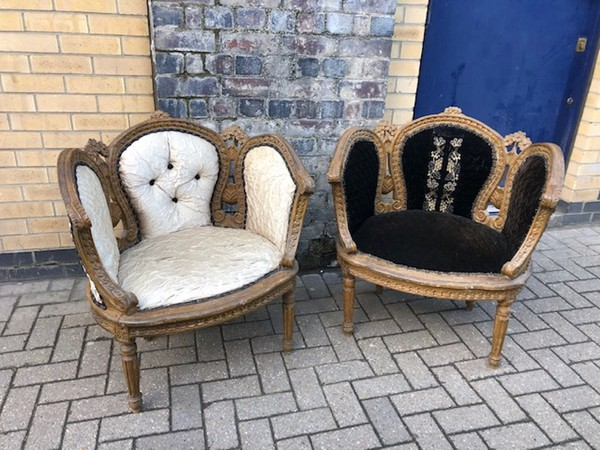 Pair of Regal Thrones