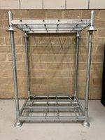 4x Stillages & 12x Steel Uprights