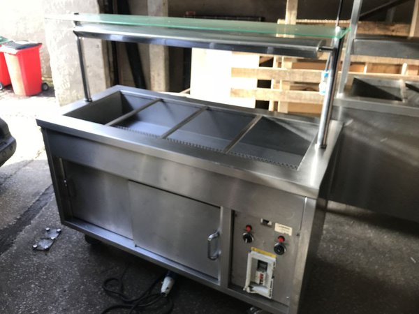 Hot Cupboard Bain Marie With Double Heated Gantry