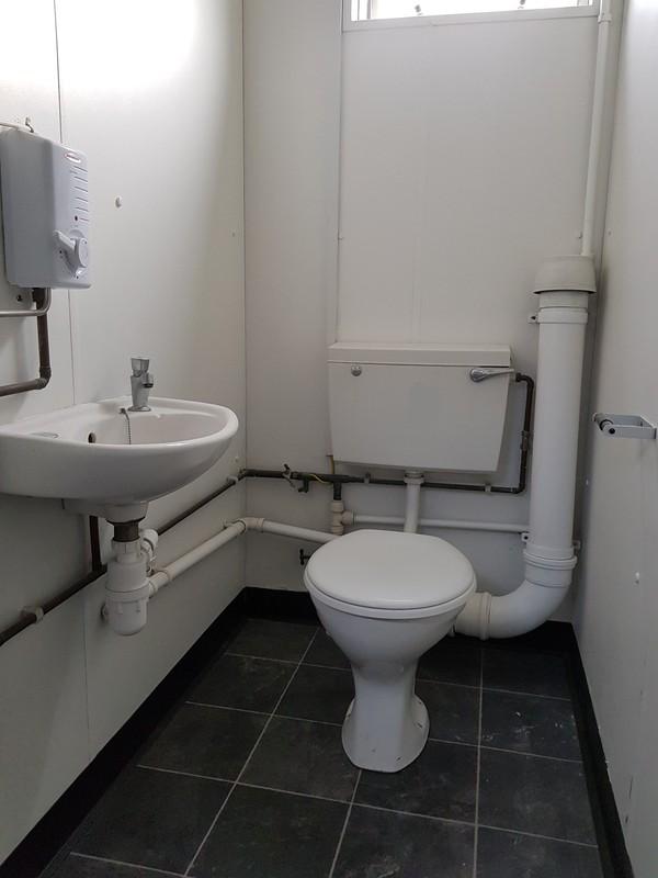 Toilet cubical
