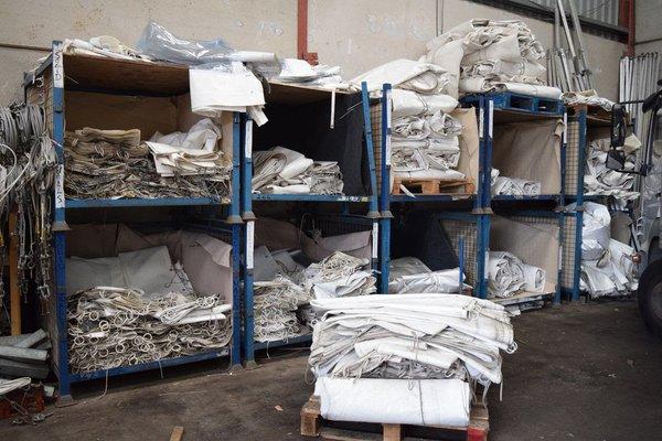 Marquee storage