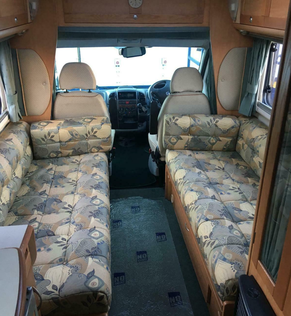 Secondhand 2 berth motorhome