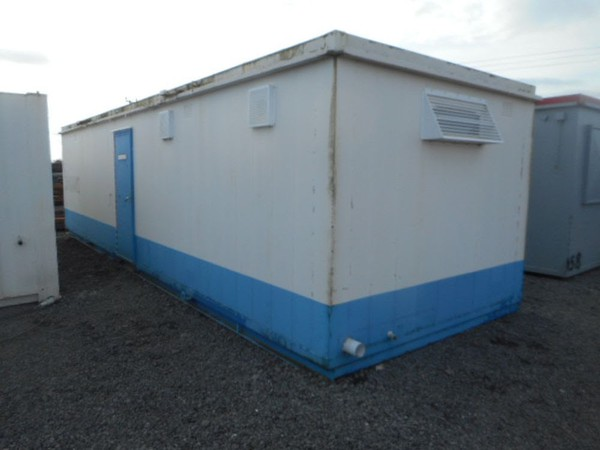 32' x 10' anti vandal toilet changing room 2 + 1 toilet