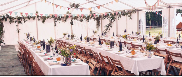 20' x 40' 6m x 12m Barkers marquee