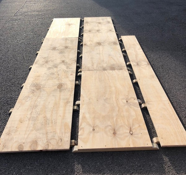 NEW: Industry Standard Interlocking Marquee Flooring