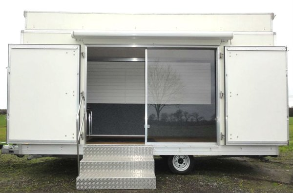 5m twin axle exhibition trailer