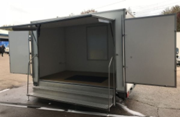 Exhibition trailer 3.66m twin-axle
