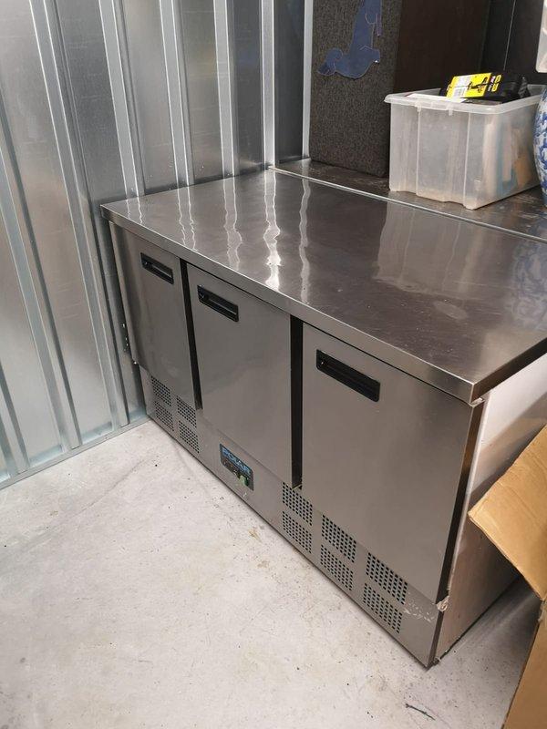 Three door Prep fridge for sale