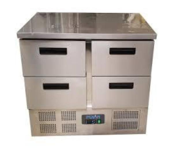 four door prep fridge for sale
