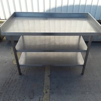 Used Stainless Steel Table (8273)