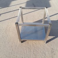 Used Stainless Steel Stand (8276)