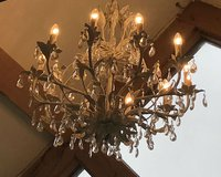Chandeliers Crystal with lief design